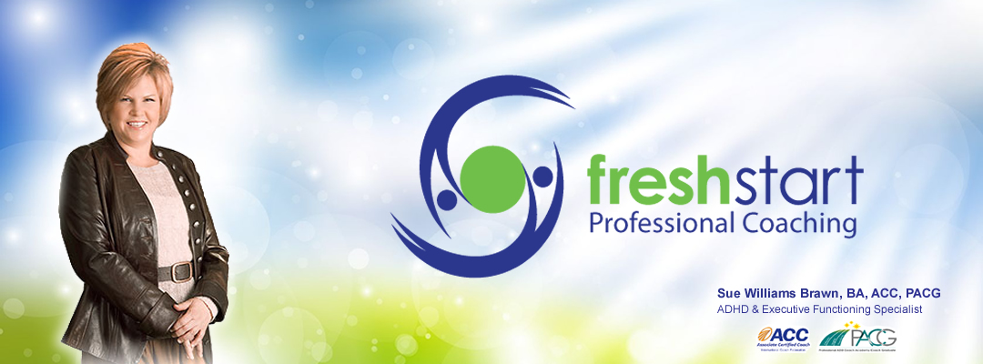 Fresh Start Professional Coaching: ADHD & Executive Functioning Specialist, Calgary AB Logo